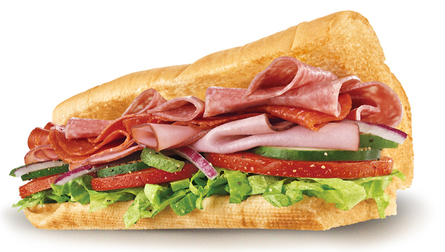 Subway curacao italian b m t for Italy b b